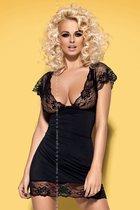 Сорочка Imperia, цвет черный, S-M - Obsessive