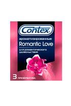 Презервативы с ароматом CONTEX Romantic - 3 шт. - CONTEX