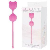 Вагинальные шарики Pussynut Double - Pink, цвет розовый - Toyz4lovers