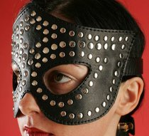 Очки-маска профурнитуренная, цвет черный - Подиум