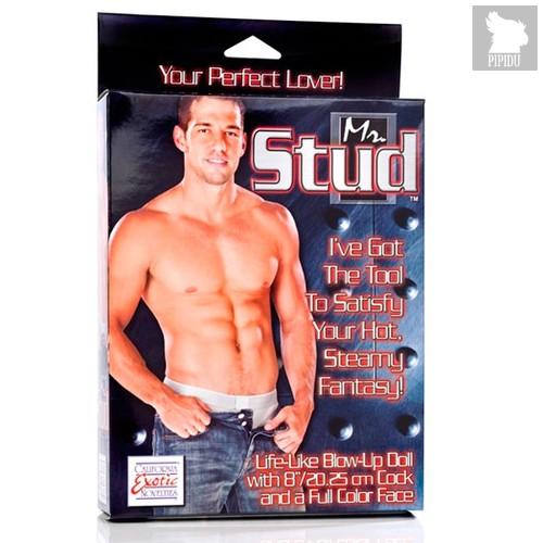 Секс-кукла мужчина Mr. Stud Love Doll, цвет телесный - California Exotic Novelties
