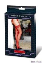 Чулки Stocking Bruna на широкой резинке, цвет красный, 4 - Concorde