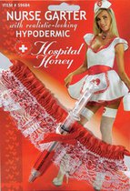 Повязка медсестры со шприцом, цвет белый/красный - Le Frivole