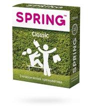 Презервативы Spring Classic классические, 3 шт. - Spring