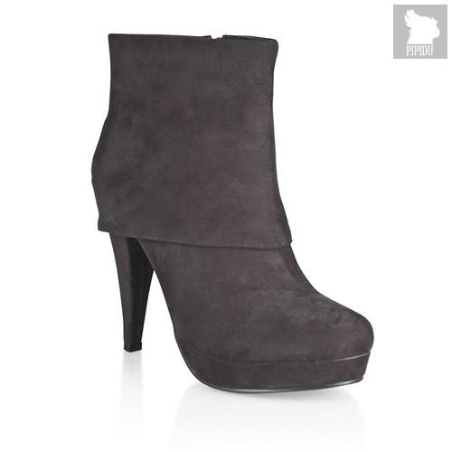 Ботильоны HFW-300, цвет черный - Hustler Shoes