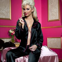 Пижама Louisette, цвет черный - Seven`til Midnight