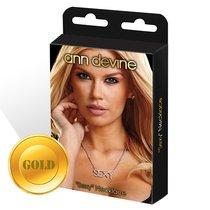 Цепочка с подвеской SEXY, цвет золотой - Ann Devine