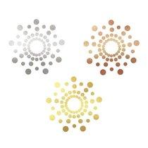 Временные тату на грудь, цвет разноцветный - Bijoux Indiscrets