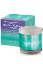 Массажная свеча DONA Scented Massage Candle Naughty Aroma: Sinful Spring 135 г - DONA by JO