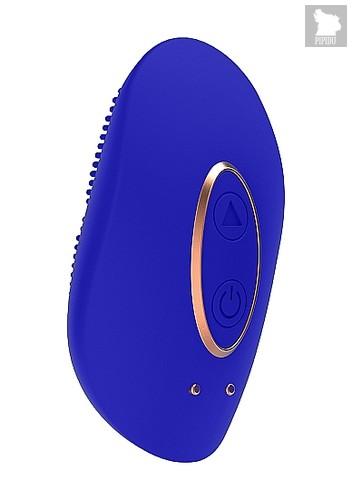 Клиторальный стимулятор Mini Rechargeable Clitoral Stimulator Precious Blue SH-ELE010BLU - HOT