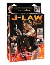 Надувная секс-кукла J-Law Hacked Love Doll, цвет телесный - Pipedream