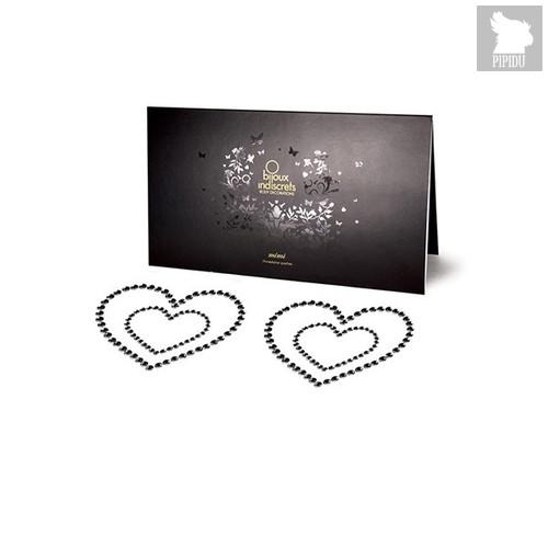 Bijoux Украшение на грудь Mimi Heart - Black, цвет черный - Bijoux Indiscrets