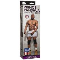 "Фаллоимитатор-насадка для страпона Принц Prince Yahshua ULTRASKYN™ 10.5"", цвет коричневый - Doc Johnson"
