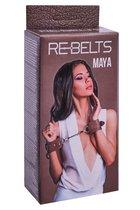 Наручники Maya Brown 7745-02rebelts - Rebelts
