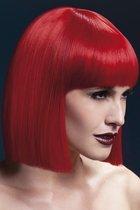 Красный парик Lola, цвет красный - Fever