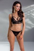Привлекательный комплект Aliyah, цвет черный, S-M - Casmir