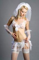 "Костюм ""Невеста Elle"", цвет белый, 46-48 - FlirtON"