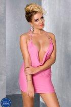 Мини-платье Miracle + стринги, цвет розовый, 4XL-5XL - Passion