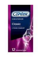 Презервативы CONTEX Classic - 12 шт. - CONTEX