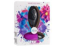 Фиолетовое виброяйцо Magic egg с пультом управления, цвет фиолетовый - Adrien Lastic