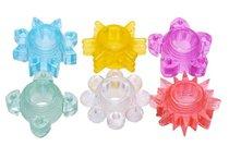 Набор из 6 разноцветных эрекционных колец Enhance 6 Piece Cock Ring Set, цвет разноцветный - XR Brands