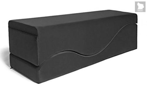 Liberator Retail Equus Wave Подушка для любви черный вельвет, цвет черный - Liberator