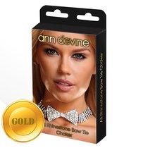 Ожерелье-бабочка из блестящих кристаллов, цвет золотой - Ann Devine