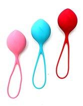 Набор из трёх вагинальных шариков Satisfyer Balls, цвет разноцветный - Satisfyer