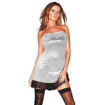 Платье Sandrine, цвет серебряный, M-L - Hustler Lingerie