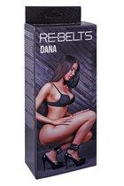 Поножи Dana Black 7748-01rebelts, цвет черный - Rebelts