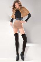 Чулки-ботфорты Microfibre Classic, цвет черный, размер 1-2 - Gabriella