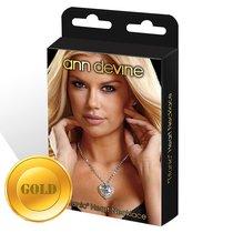 Золотистая цепочка с сердцем TITANIC Heart Necklace, цвет золотой - Ann Devine