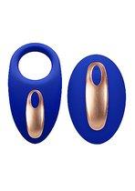 Эрекционное виброкольцо Poise Blue SH-ELE018BLU - Shots Media
