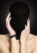 Закрытая маска на лицо Subjugation, цвет черный - Shots Media