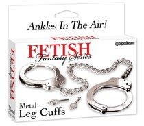 FFS METAL LEG CUFFS 380700PD - Pipedream