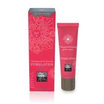 Возбуждающий интимный гель для двоих STIMULATION GEL Pomegranate & Nutmeg - 30 мл. - Shiatsu by HOT