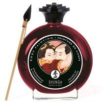 Декоративная крем-краска для тела с ароматом шампанского и клубники - Shunga Erotic Art