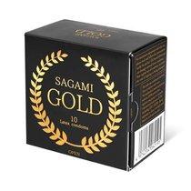Презервативы латексные Sagami Gold 10'S Sag195 - Sagami