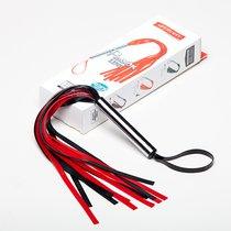Черно-красная мини-плеть - 35 см., цвет красный/черный - Sitabella (СК-Визит)