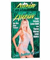 Надувная секс-кукла ALICIA LOVE DOLL, цвет телесный - Seven Creations