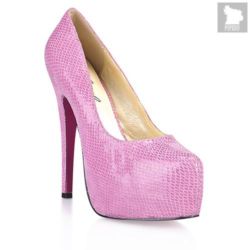 Туфли Pinkskin Pump, цвет розовый - Hustler Shoes