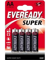 Батарейки EVEREADY SUPER R6 типа AA - 4 шт. - Energizer
