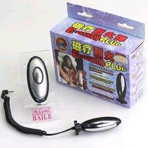 Анальная пробка с электростимуляцией E-passion Plug - 7,4 см - Baile