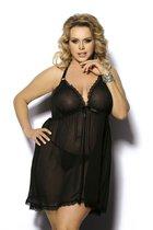 Сорочка Adola, цвет черный, 5XL-6XL - Gorgeous+