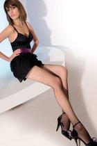 Колготки в сетку Kabarette Collant 151, цвет черный, 3-4 - Gabriella