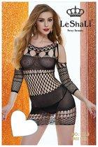 Эротическое платье, цвет черный - МиФ