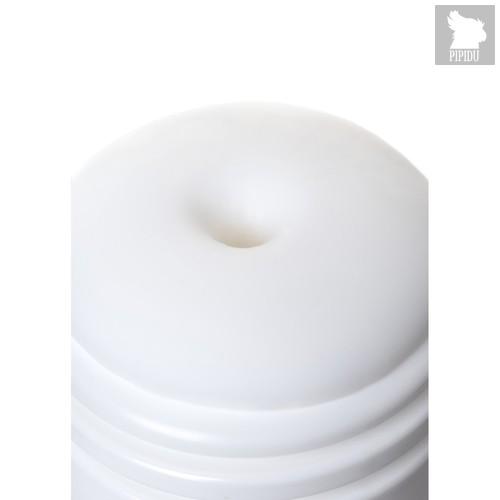 Нереалистичный мастурбатор Tumbler Square, цвет белый - Men's max