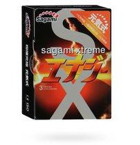 Презервативы Sagamy Energy со вкусом энергетика, 10 шт. - Sagami