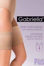 Сатиновые подвязки на бедра для защиты от натирания, цвет черный, 3-4 - Gabriella