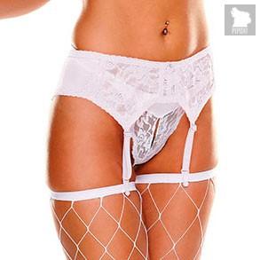 Пояс для чулок Ann Devine с подвязками, цвет белый, OS - Ann Devine